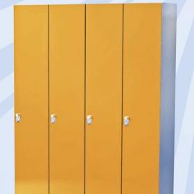 Garderobenschränke für das Gewerbe Bild 2